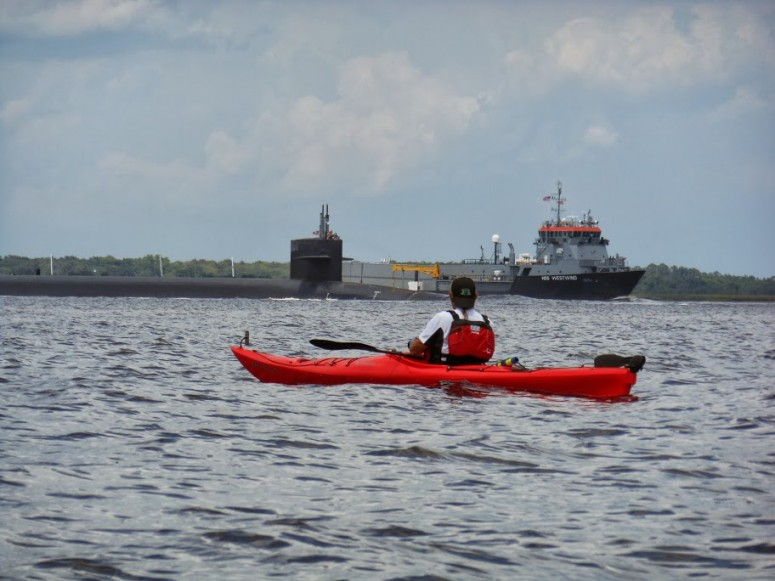 Submarine in Cumberland Sound