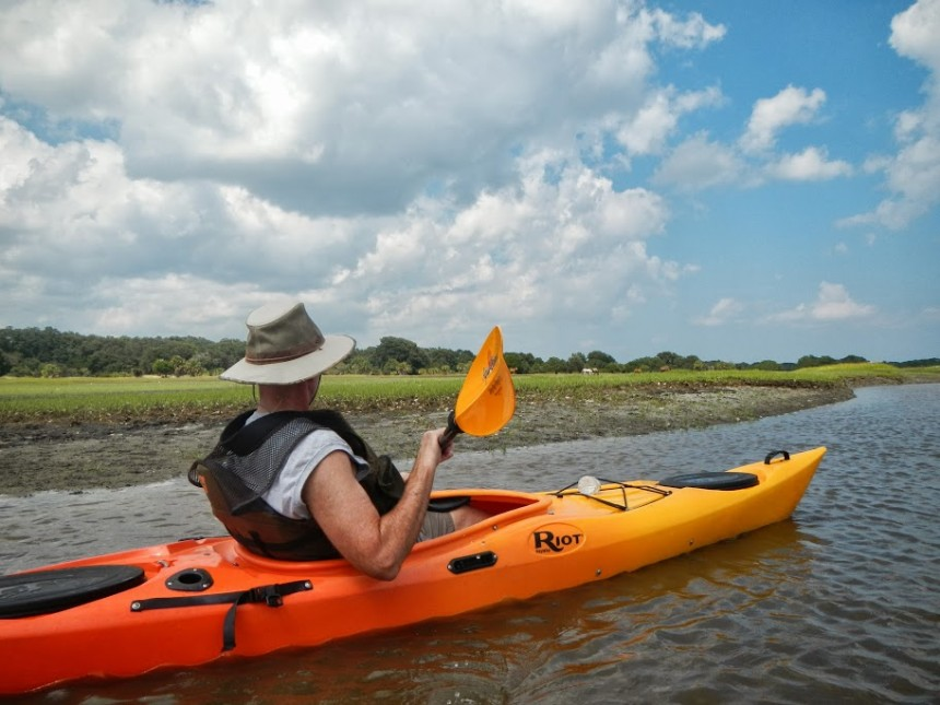 Kayak to Cumberland Island